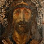 Crist sofrent<br /> Joan Gascó.<br /> S. XVI <br /> Pintura a l'oli i al tremp sobre fusta.<br /> 39,5 x 28 x 4,5<br /> És al museu en dipòsit.<br /> Núm. Inv. 475
