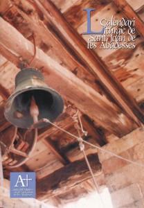 ESTEVE i CUBÍ, Josep. <strong>Calendari litúrgic de Sant Joan de les Abadesses.</strong> Junta del Monestir de Sant Joan de les Abadesses. Sant Joan de les Abadesses, 2003. 3 €