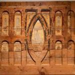 Frontal d'altar<br /> S. XII <br /> Pintura al tremp sobre fusta.<br /> 92,5 x 146,7 x 4 (reconstrucció); 64 x 95 (part original).<br /> Núm. Inv. 51<br /> Prové de l'altar de l'església del monestir. Es trobà darrere d'un altar barroc.<br /> Segurament de caràcter marià per la inscripció que ressegueix la màndorla <em>Est...tat in vlnis que genvit ria fvit dev...</em><br />